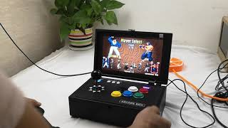 Raspberry Pi 3B 10 Inch LCD Video Game Console Includes 10K Games Installed Recalbox Arcade