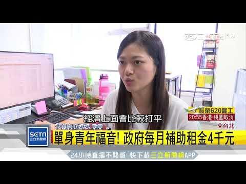 「租金補貼」試辦一年!婚育家庭最高領5千元|三立新聞台