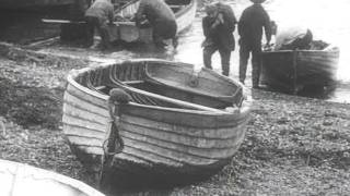 Oyster fishing in whitstable in1909