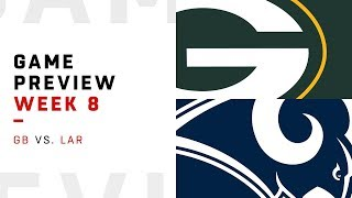 Green Bay Packers vs. Los Angeles Rams   Week 8 Game Preview   Move the Sticks