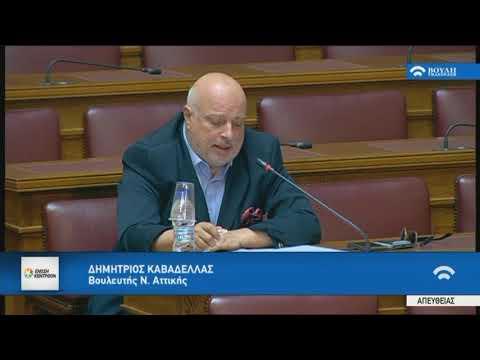 Δ. Καβαδέλλας / Επιτροπή Οικονομικών Υποθέσεων / 17-5-2018