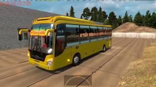 [Thaco Mobihome 2012] Test xe giường nằm Thaco Mobihome 2012 của nhà xe Tuấn Hưng trong game ETS2