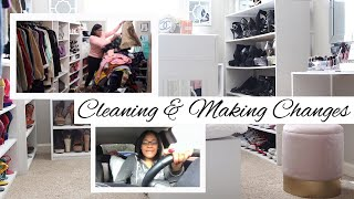 Whats New?   Closet Cleaning   Making Life Changes   Kitchen Organization