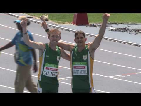 Team SA Paralympics 2016| Sasol Highlights Package | Gold and Bronze for Team SA !!
