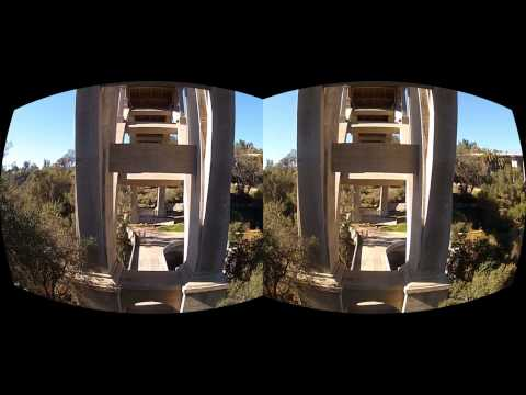 Oculus Rift 3D GoPro Movie test - The Bridge