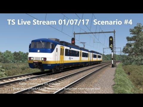 [MarkA] Met vervangend materiaal naar Roosendaal (Livestream 01/07/17)