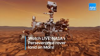 Watch LIVE: NASA's Perseverance rover land on Mars!