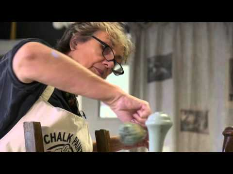 How to stencil a chair with Chalk Paint® - Part 1