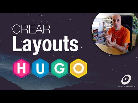 Layouts con Hugo