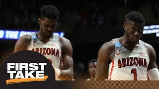 First Take reacts to Arizona's blowout loss to Buffalo in NCAA tournament | First Take | ESPN