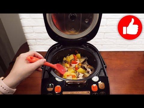 Минутный обед или ужин, все смешал и в мультиварку! Быстро и вкусно получается картофель с курицей!