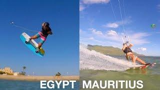 THE BEST KITESURFING PLACE: EGYPT vs MAURITIUS