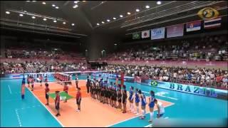 Bóng chuyền:chủ công thái lan xé nát Brazil ,Việt nam lo sea games
