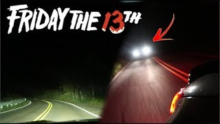 CLINTON ROAD ON FRIDAY THE 13TH! (CHASED BY TRUCK)