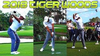 2018 TIGER WOODS HONDA CLASSIC GOLF SWING FOOTAGE 1080p HD