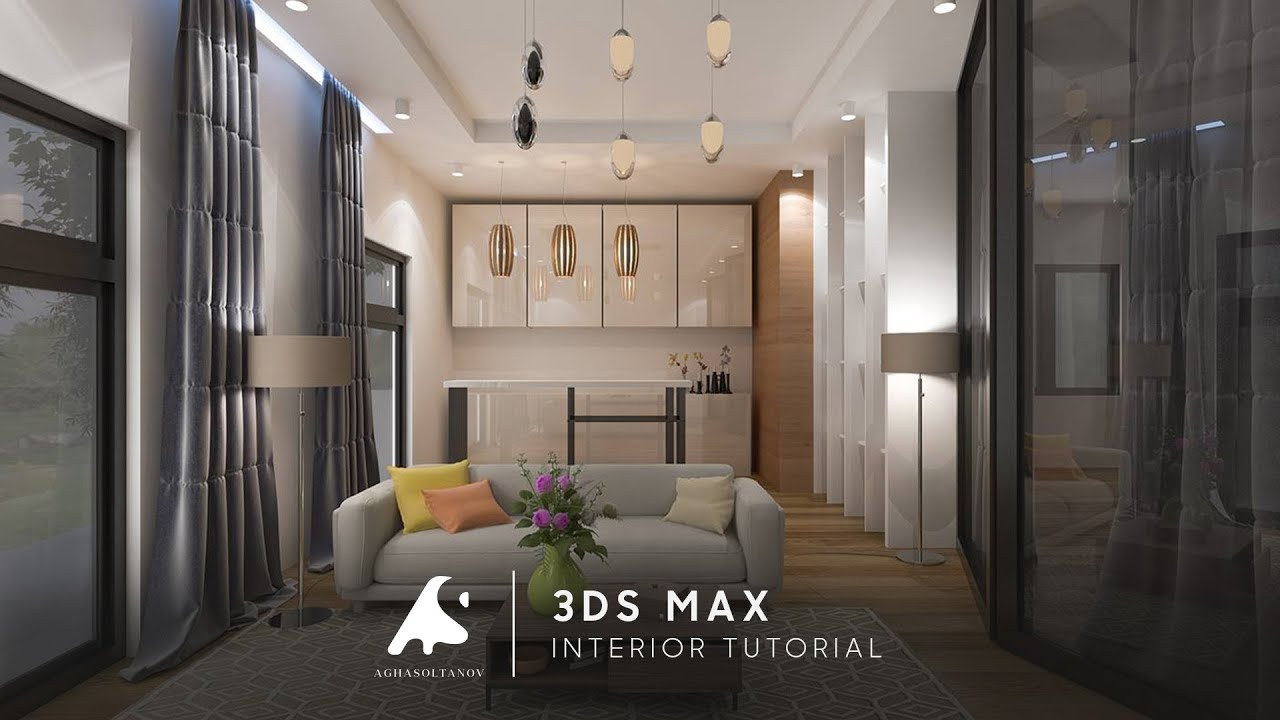 3ds+Max+Modeling+kitchen+interior+++Vray+++Photoshop