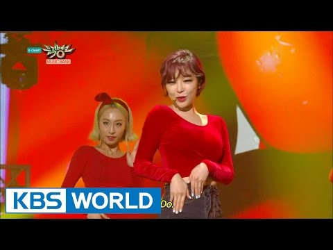 GAIN (가인) - Apple (Feat.Amber (f(x)) [Music Bank HOT Stage / 2015.03.27]
