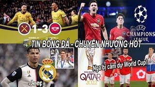 💥Tin bóng đá 10/12|MU tự tin vào TOP 4, Arsenal ngược dòng chiến thắng, Ronaldo hối hận vì rời Real