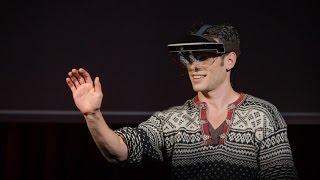 A glimpse of the future through an augmented reality headset | Meron Gribetz