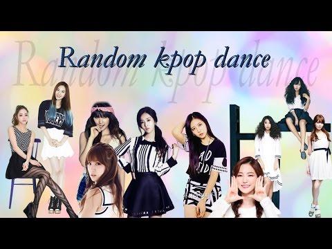 Random kpop dance ( girl groups )