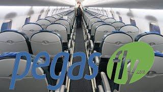 Embraer 190 а/к Pegas Fly | Рейс Москва (Шереметьево) - Санкт-Петербург
