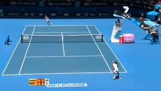 Daniela Hantuchova v Agnieszka Radwanska Australian Open Highlights