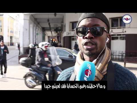 سنغالي وتأهل المنتخب المغربي
