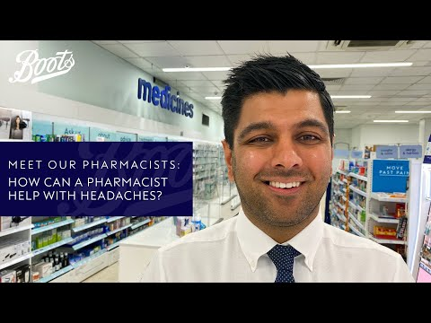 boots.com & Boots Voucher Code video: Meet our Pharmacists | How can a Pharmacist help with headaches? | Boots UK