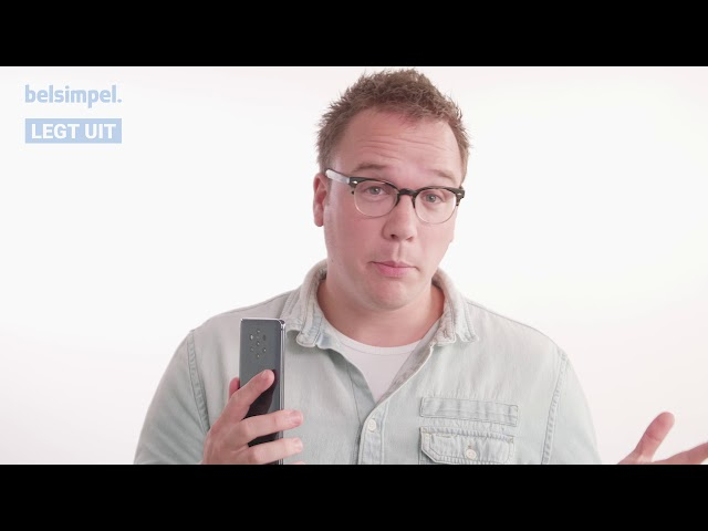 Belsimpel-productvideo voor de Nokia 3.1 16GB Blue