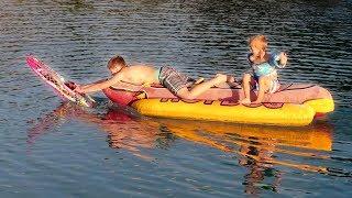 RC Boats VS My Kids!!