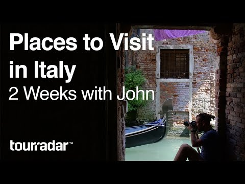 Places to Visit in Italy: 2 Weeks with John VLOG 1/2