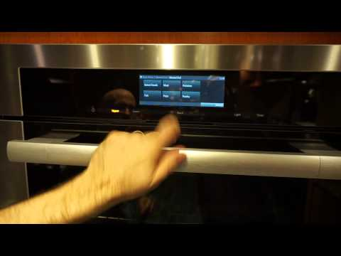 Miele Wall Oven MasterChef Guided Cooking Mode Live Demo