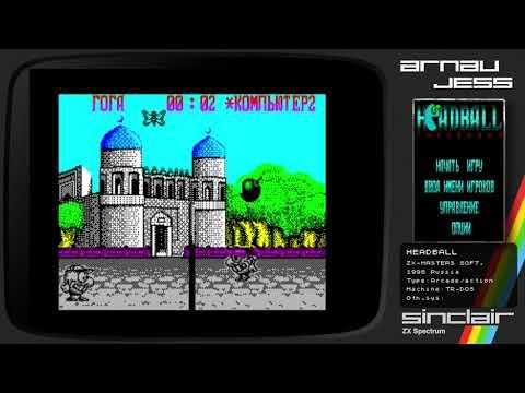 HEADBALL Zx Spectrum by ZX-Masters Soft.