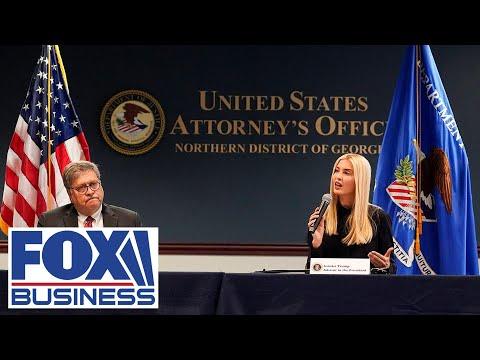 AG Bill Barr, Ivanka Trump push to fight human trafficking
