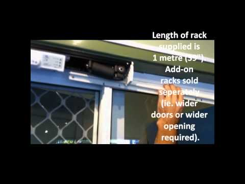 Autoslide - Convert Manual Door into Automatic Door in 20 minutes