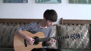 """Carrying You : From Laputa """"Castles In The Sky"""" - Sungha Jung"""
