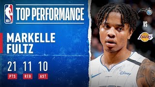 Markelle Fultz SHOWS OUT In Staples!