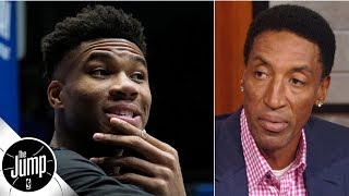 Scottie Pippen reacts to Bucks getting fined for Giannis comments: 'That is soft' | The Jump