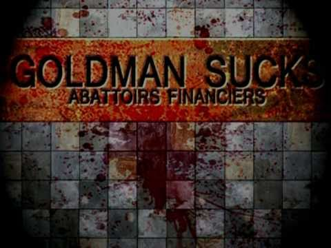 """the goldman sachs song"" by Blanc Bec"