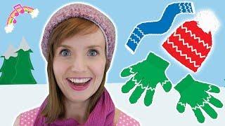 Winter clothing song for children