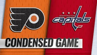 01/08/19 Condensed Game: Flyers @ Capitals