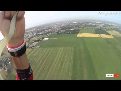 Action Cam. L'azione in tempo reale | Paracadutismo di gruppo con Max Maida