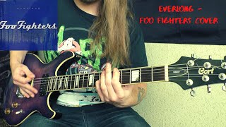 Foo Fighters - Everlong (guitar cover tutorial)
