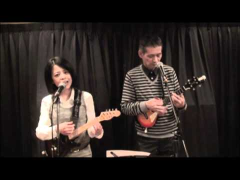 T.T.Cafe Jazz ukulele (Mockin' Bird Hill) Les Paul & Mary Ford (cover)