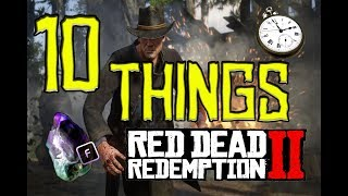 RDR2 10 Things You Don't Know, 10 Easter Eggs, 10 Secrets