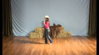 Learn how to line dance - The Tush Push line dance instruction