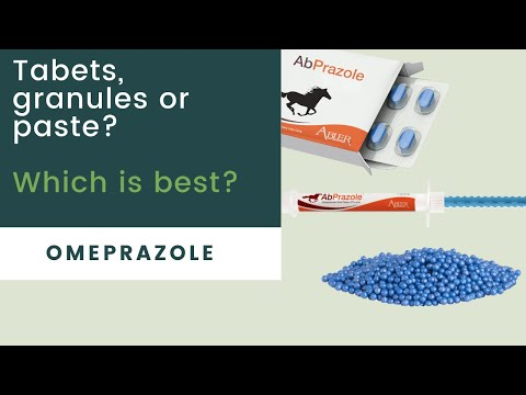 Omeprazole Granules,Tablets or Paste? Whats best for my horse?