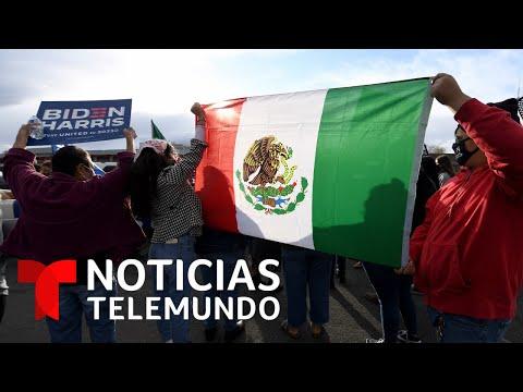 La victoria de Biden llena de esperanza a los inmigrantes | Noticias Telemundo