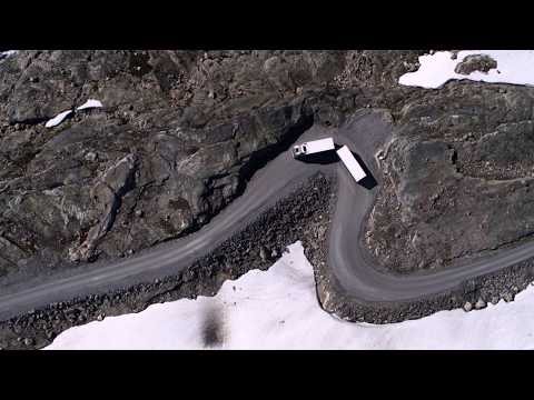 Volvo Trucks - Running footage of a Volvo FH16 through some of the world?s most challenging roads
