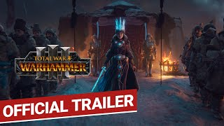 Total War: WARHAMMER III Announce Trailer - Conquer Your Daemons   Coming 2021